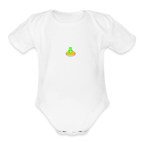 Nahid Bahmanzadah - Organic Short Sleeve Baby Bodysuit