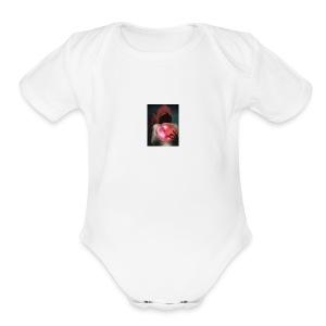 wraith crystal ball - Short Sleeve Baby Bodysuit