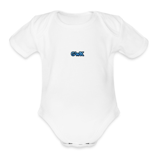 Gkw Best first - Organic Short Sleeve Baby Bodysuit