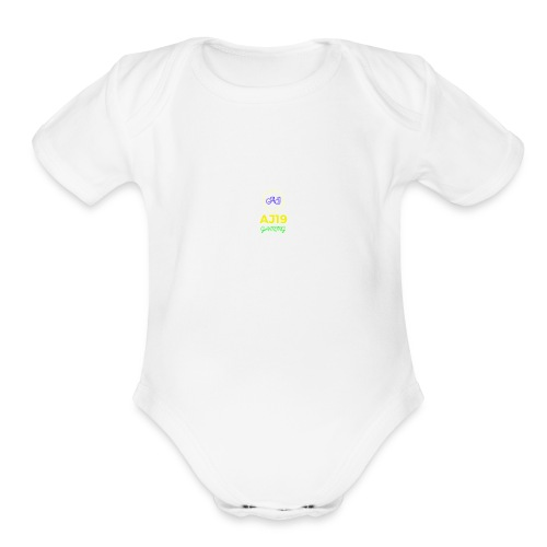 MY SHIRT FOR BABIES - Organic Short Sleeve Baby Bodysuit