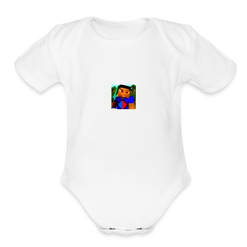 Isaac The Gamer - Organic Short Sleeve Baby Bodysuit