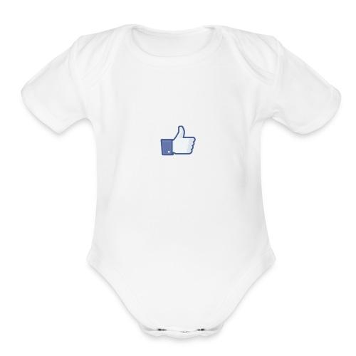 Like - Organic Short Sleeve Baby Bodysuit