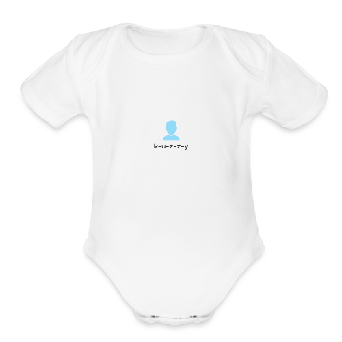 KUZZY SHIRT - Organic Short Sleeve Baby Bodysuit