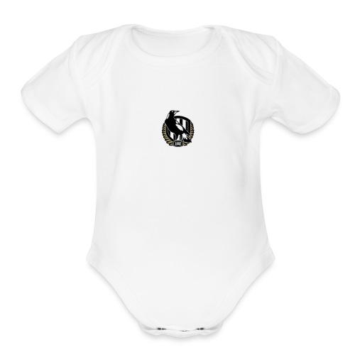 collingwood - Organic Short Sleeve Baby Bodysuit