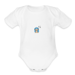 music animal cute - Short Sleeve Baby Bodysuit