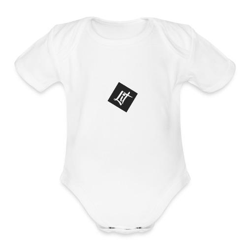 Lit Modelz - Organic Short Sleeve Baby Bodysuit