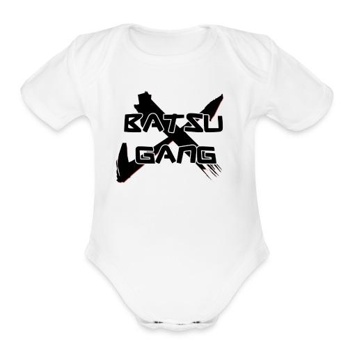 BatsuGangshirt - Organic Short Sleeve Baby Bodysuit