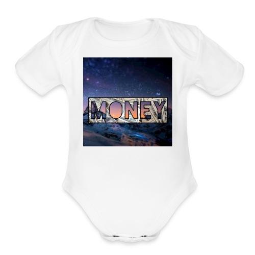 Kzk Y - Organic Short Sleeve Baby Bodysuit
