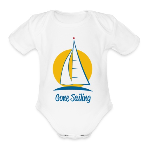 Gone Sailing T-Shirt - Organic Short Sleeve Baby Bodysuit