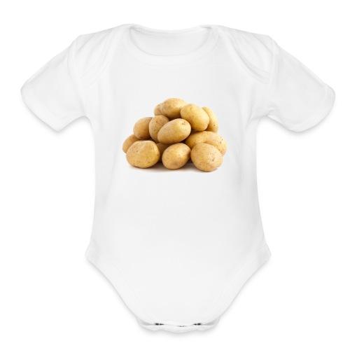 A0E46D0D 683B 4B22 B077 E31CC431E983 - Organic Short Sleeve Baby Bodysuit