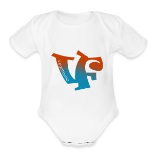 Vegafornia Styles - Short Sleeve Baby Bodysuit