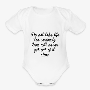 LIFE - Short Sleeve Baby Bodysuit