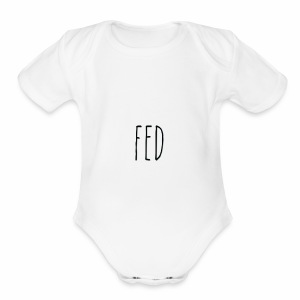 fed - Short Sleeve Baby Bodysuit