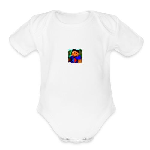 Isaac The Gamer - Organic Short Sleeve Baby Bodysuit