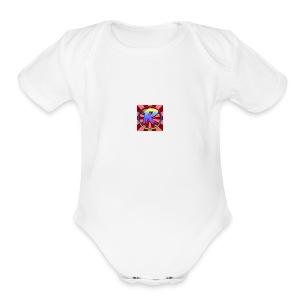 TheG0ld3nFriend Logo - Short Sleeve Baby Bodysuit