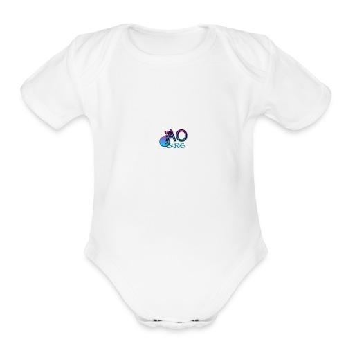 AOSUBS - Organic Short Sleeve Baby Bodysuit