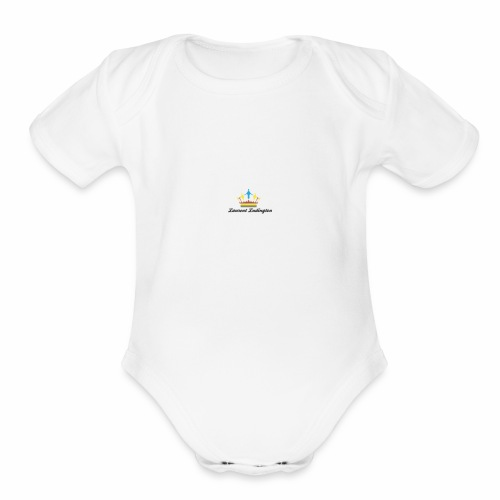Laurent Ludington - Organic Short Sleeve Baby Bodysuit