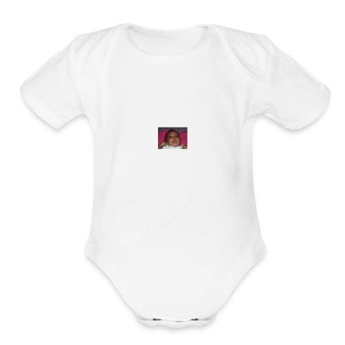1339685609481 - Organic Short Sleeve Baby Bodysuit