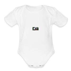 Fiest video shirt!!!!! - Short Sleeve Baby Bodysuit