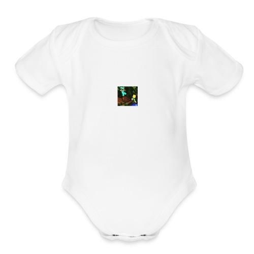MIN T-SHORTE - Organic Short Sleeve Baby Bodysuit