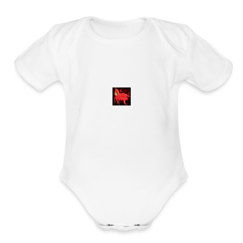 KinG_Tyrik - Organic Short Sleeve Baby Bodysuit