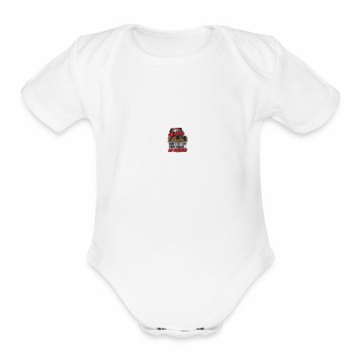 Fresh Dirt Cars - Organic Short Sleeve Baby Bodysuit