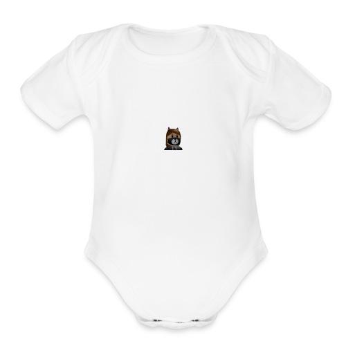 chocolatechippunch - Organic Short Sleeve Baby Bodysuit