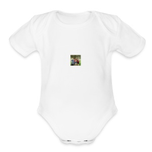 girlclub - Short Sleeve Baby Bodysuit