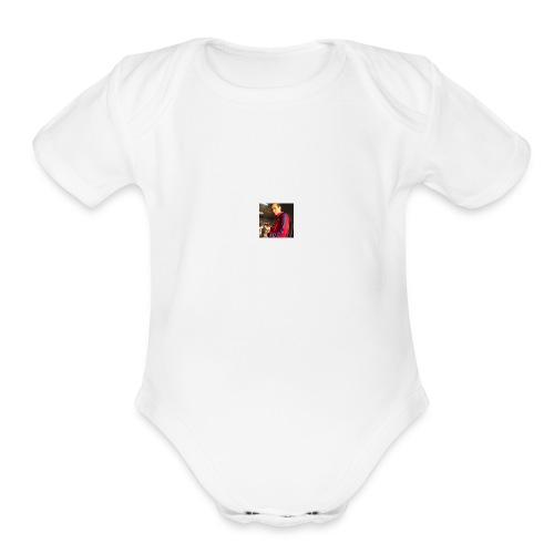 profile1 - Organic Short Sleeve Baby Bodysuit