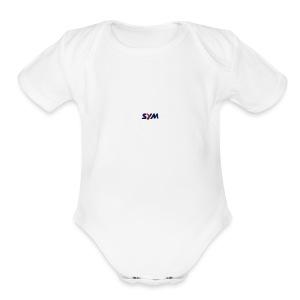 download_-7- - Short Sleeve Baby Bodysuit