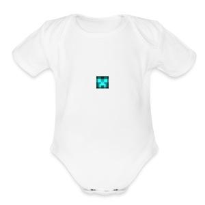 Its my channel logo - Short Sleeve Baby Bodysuit