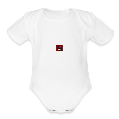 YOUTUBER - Organic Short Sleeve Baby Bodysuit