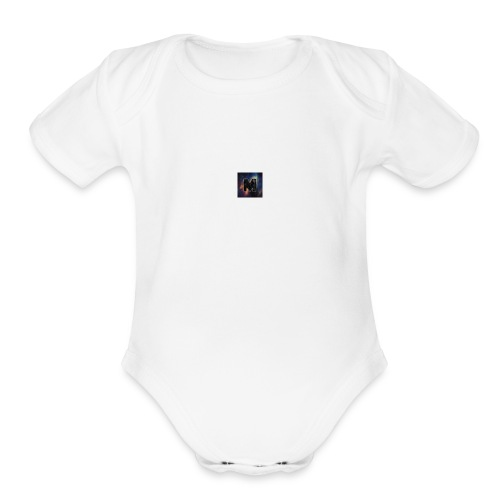 TheMiniGamer Shop - Organic Short Sleeve Baby Bodysuit