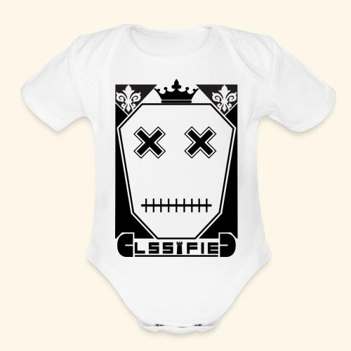 CLASSIFIED - Organic Short Sleeve Baby Bodysuit