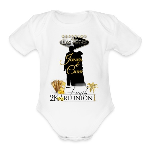 Jones Reunion 2K17 - Organic Short Sleeve Baby Bodysuit