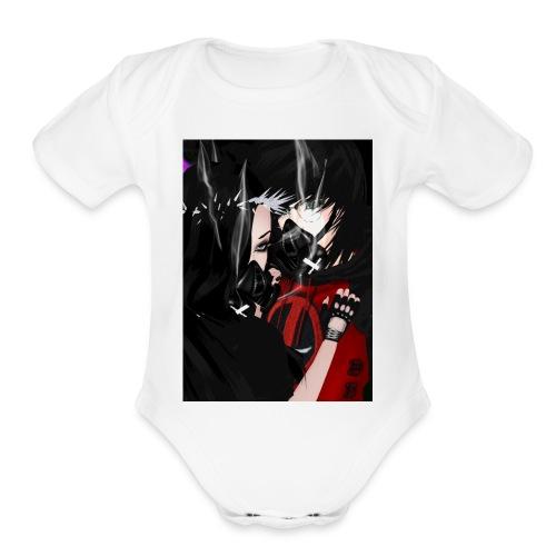 kayla & Deon - Organic Short Sleeve Baby Bodysuit