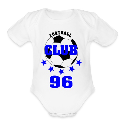 FootballClub 2. Edition - Organic Short Sleeve Baby Bodysuit