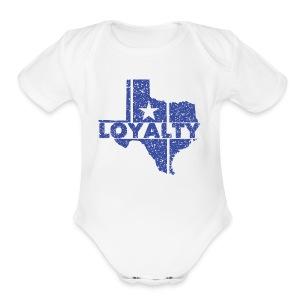 Loyalty - Short Sleeve Baby Bodysuit