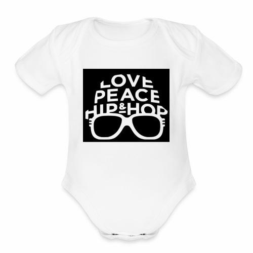 IMG 5518 - Organic Short Sleeve Baby Bodysuit