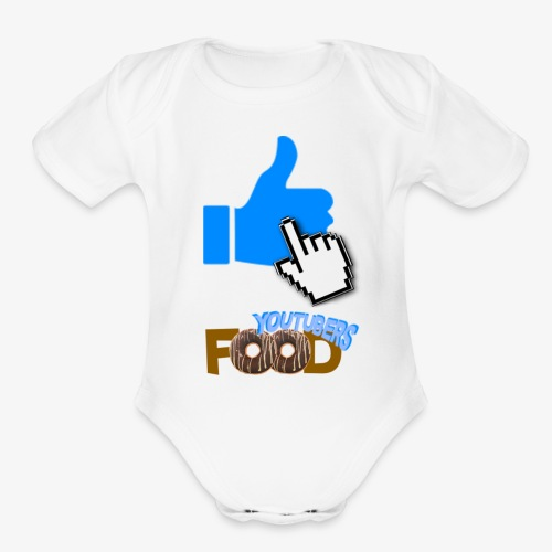Youtuber's Food - Organic Short Sleeve Baby Bodysuit