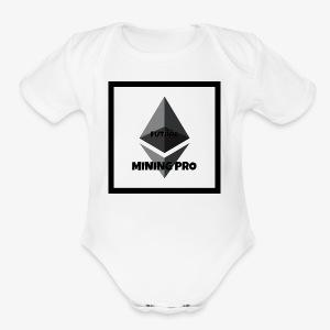 Future Ethereum Mining Pro - Short Sleeve Baby Bodysuit