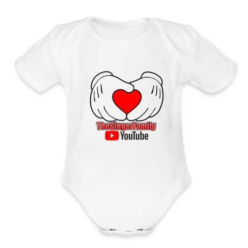 Support Us, Show Everyone Who You Watch - Organic Short Sleeve Baby Bodysuit