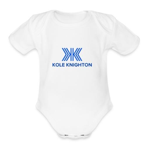 Kole Knighton Merch - Organic Short Sleeve Baby Bodysuit