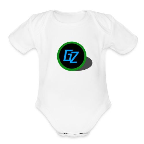 GZ Logo - Organic Short Sleeve Baby Bodysuit