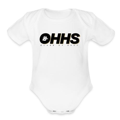 2590764 13461187 - Organic Short Sleeve Baby Bodysuit