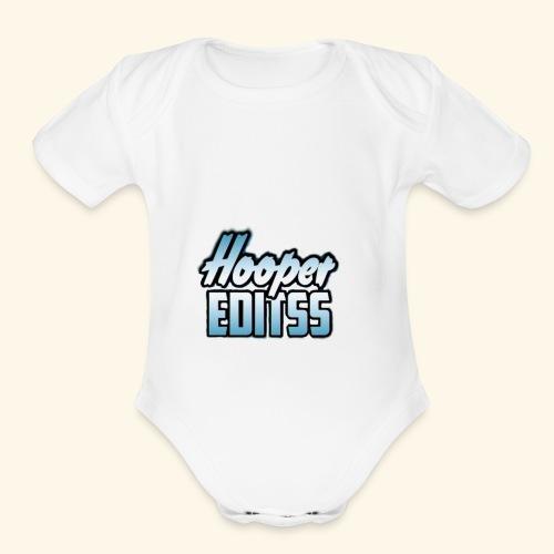 hooper.editss - Organic Short Sleeve Baby Bodysuit