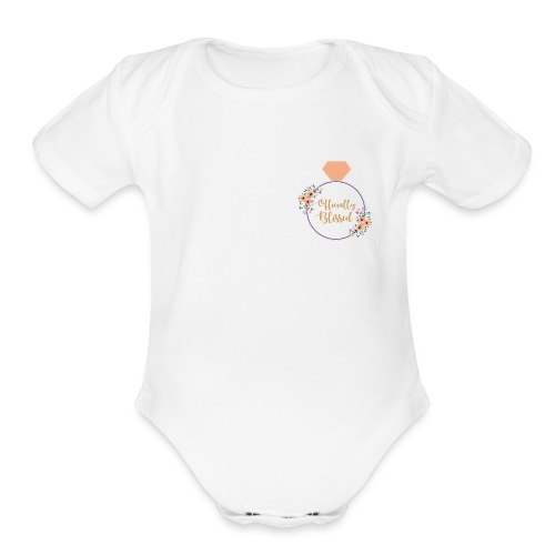 Officially Blissed - Organic Short Sleeve Baby Bodysuit