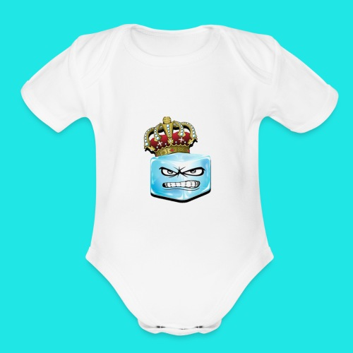 TheIceKing - Organic Short Sleeve Baby Bodysuit