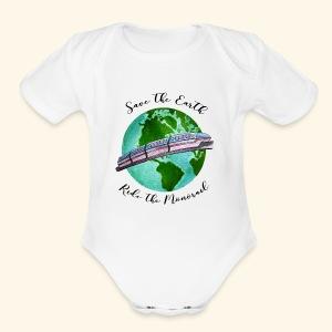 Save the Earth - Short Sleeve Baby Bodysuit