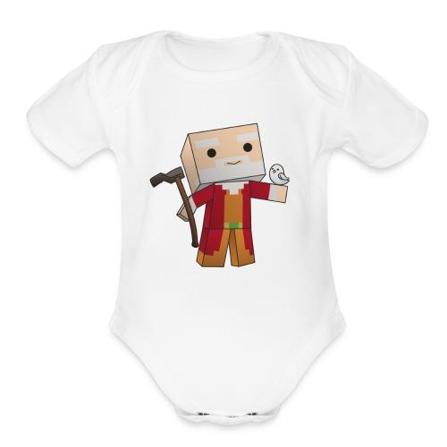 Faithful Noah - Organic Short Sleeve Baby Bodysuit